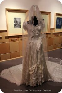 Wedding Dress View Into The Past: Dress from the late 1940s