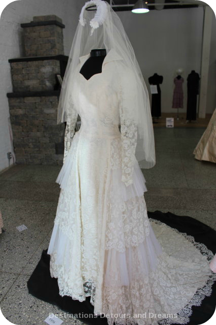 Wedding Dress View Into The Past: 1950s dress