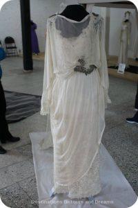 Wedding Dress View Into The Past: Muriel Richardson 1919 dress