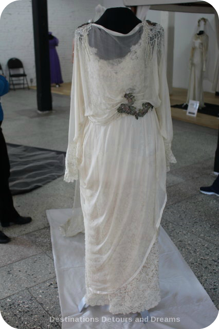 Wedding Dress View Into The Past: Muriel Richardson 1919 dress