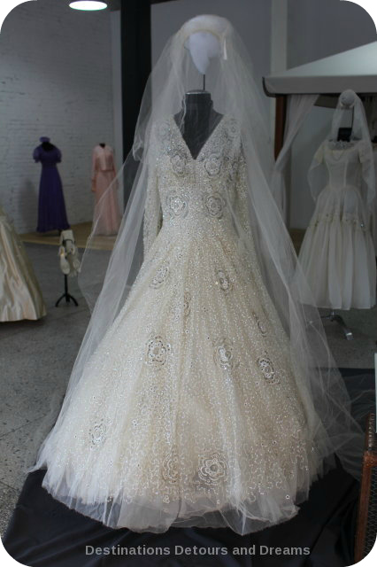 Wedding Dress View Into The Past: Shirley Richardson dress