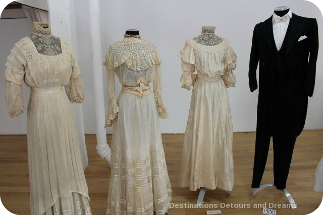 Wedding Dress View Into The Past: the early 1900s