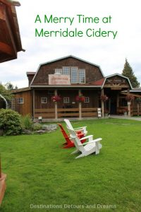 A Merry Time at Merridale Cidery