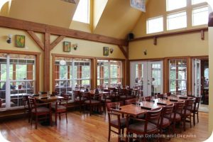A Merry Time at Merridale Cidery: the restaurant