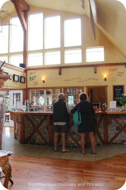 A Merry Time at Merridale Cidery: the tasting room