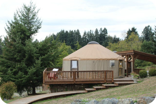 A Merry Time at Merrridale Cidery: Yurts