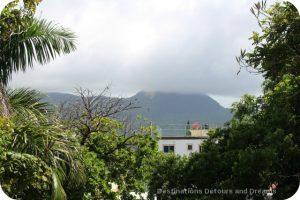 Puerto Plata Highlights: mist on Isabel de Torres Peak