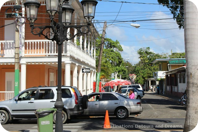 Puerto Plata Highlights: street near Central Park