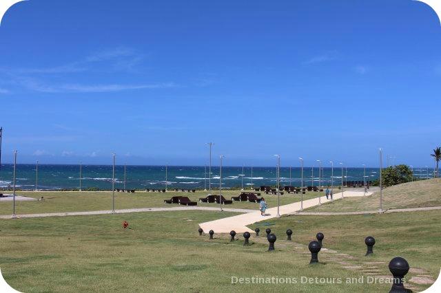 Puerto Plata Highlights: walkway at Fort San Felipe