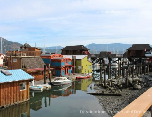 The Quaint Seaside Villiage of Cowichan Bay, British Columbia
