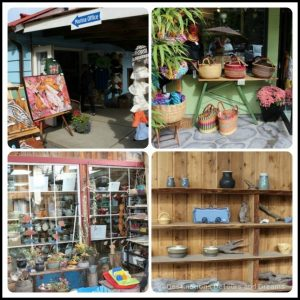 Shopping in the quaint seaside village of Cowichan Bay on Vancouver Island