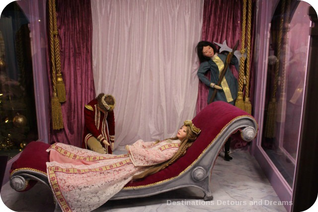 Christmas Fairytale Vignettes: Sleeping Beauty