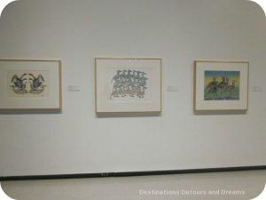 Our Land Inuit art exhibit at Winnipeg Art Gallery