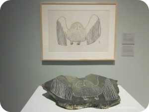 About printmaking at Our Land Inuit art exhibit at Winnipeg Art Gallery