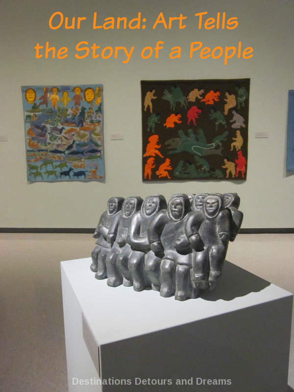 Our Land Inuit art exhibit at Winnipeg Art Gallery
