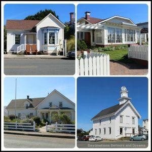 California North Coast Highlights: Mendocino Villages Victorian buildings