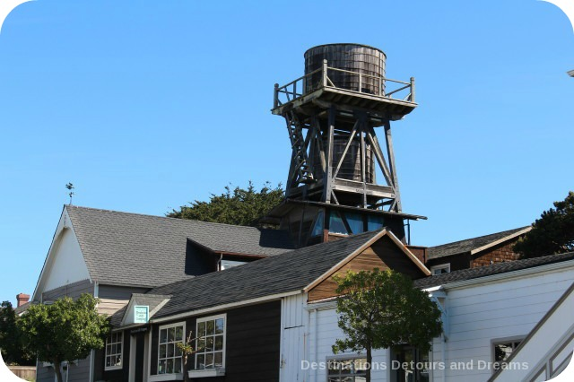 California North Coast Highlights: Mendocino Village is known for its water towers