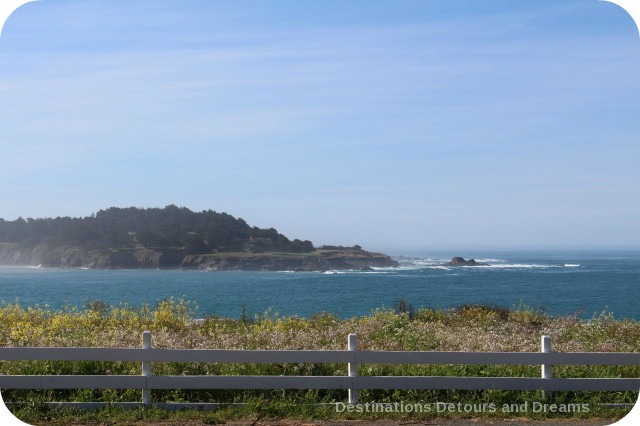 California North Coast Highlights - rugged beauty at Mendocino Village
