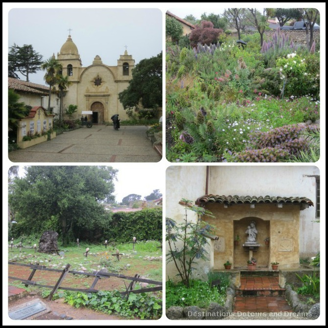 Mission San Carlos Borromeo del Rio Carmelo, Carmel-by-the-Sea on California's Pacifc Coast