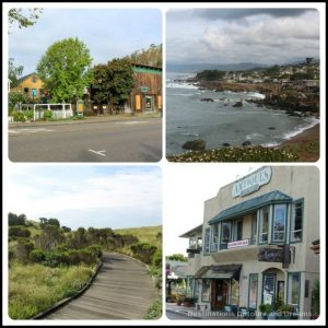 Charming Cambria along central California coast