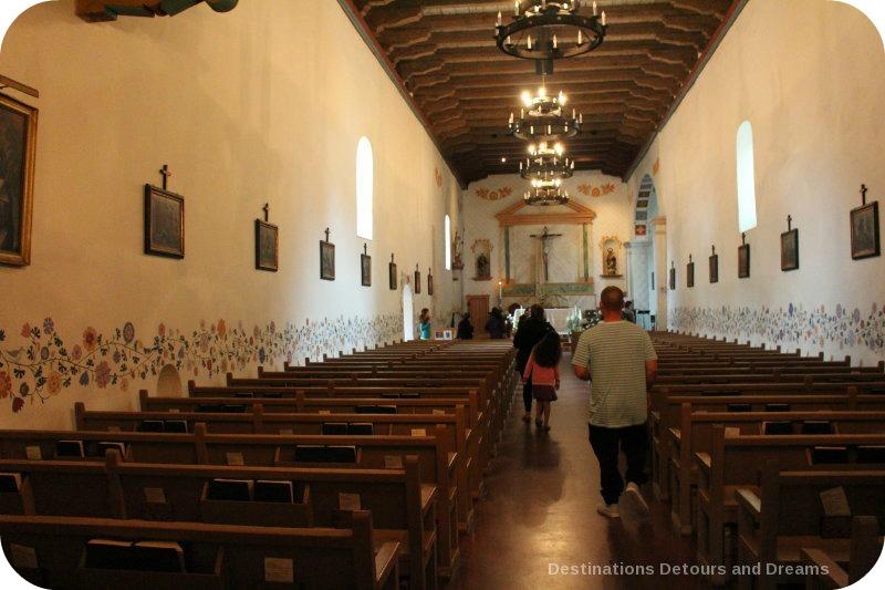 Inside Mission San Luis Obispo de Tolosa, California