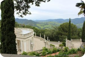 The views from Hearst Castle are as magnificent as the buildings
