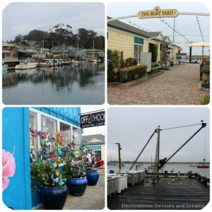 Morro Bay along central California's coast is a funky, maritime town