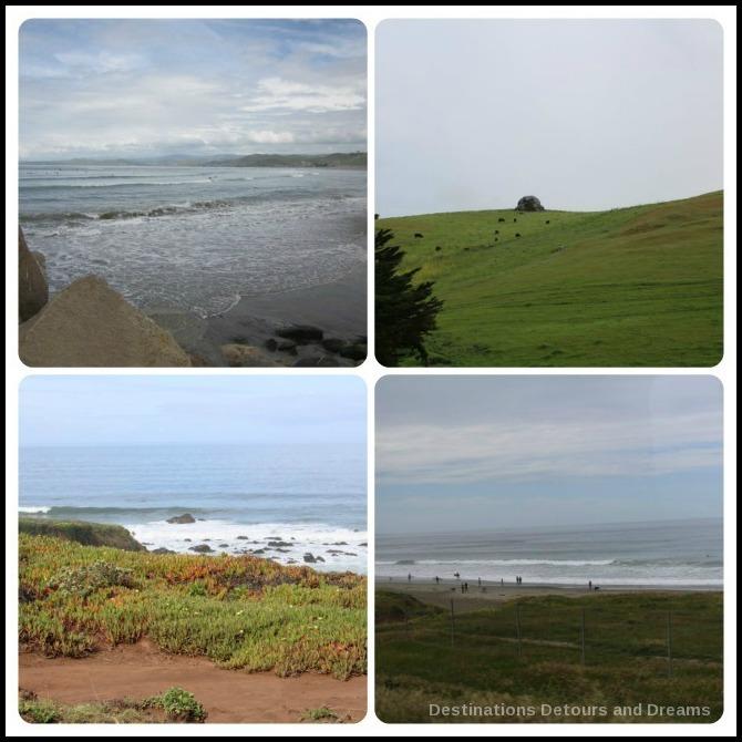 Scenery of San Luis Obispo County in central California