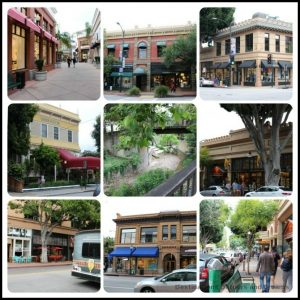 Images of San Luis Obispo, a lively and historic college town in central California