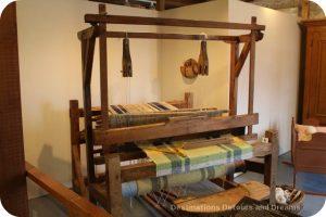Loom at St Boniface Museum, Winnipeg, Manitoba