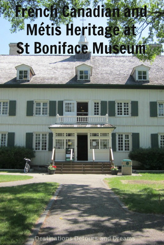 Western Canada French-Canadian and Métis heritage at St Boniface Museum in Winnipeg, Manitoba