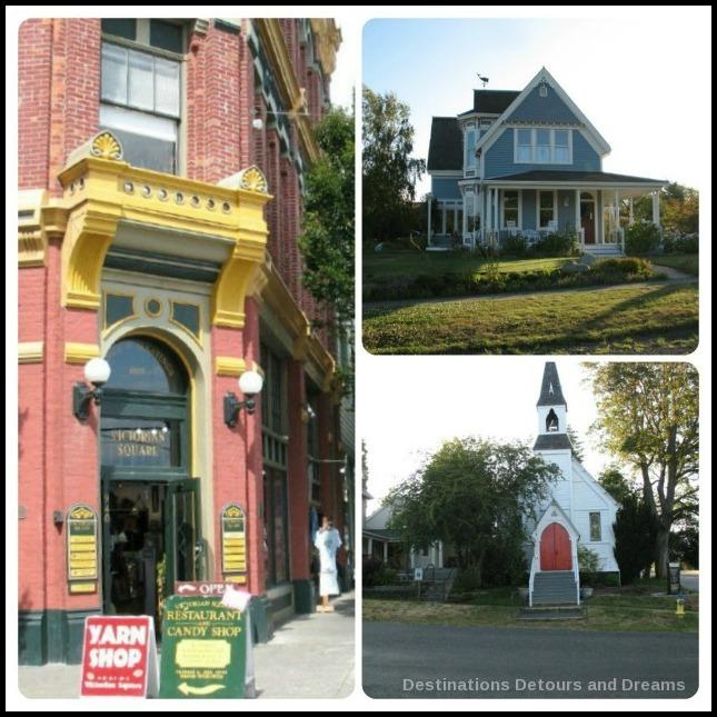 Victorian architecture in Port Townsend, Washington