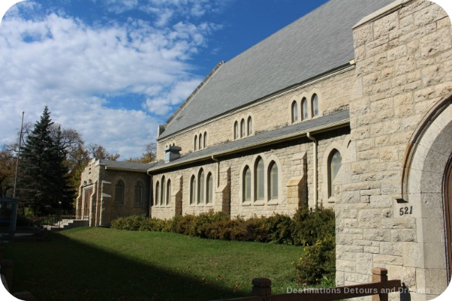 Winnipeg and Tyndall Stone: All Saints' Anglican Church