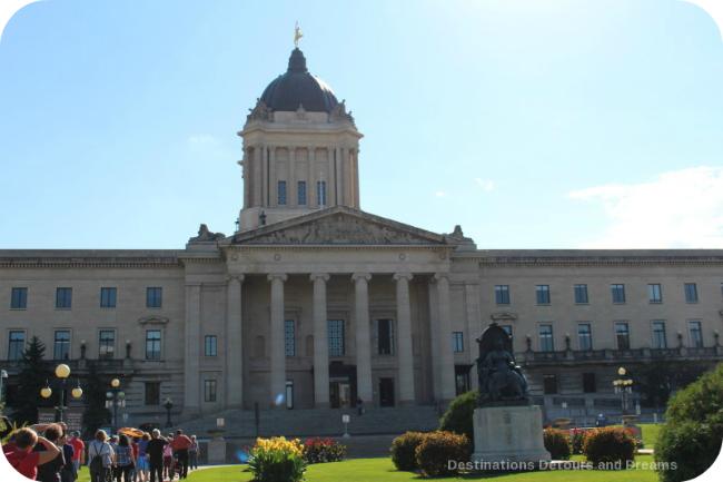 Winnipeg and Tyndall Stone: Manitoba Legislative Building