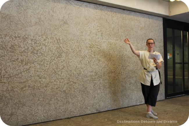 Winnipeg and Tyndall Stone: Fossils and Architecture along walls of Winnipeg Art Gallery