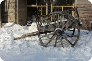 Cart at FortWhyte Alive