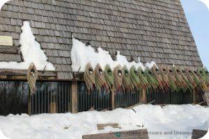 Winnipeg Winter Fun at FortWhyte Alive: snowshoeing