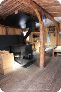 Winnipeg Winter Fun at FortWhyte Alive: sod house