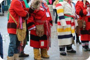 Costumes at Festival du Voyageur