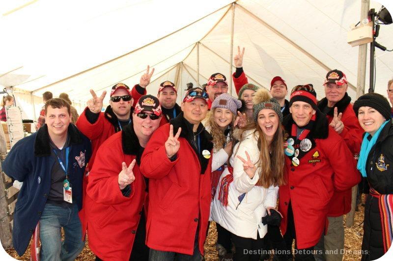 Festival du Voyageur attendees