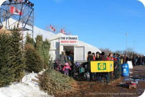 Festival dy Voyageur taffy shack line-up
