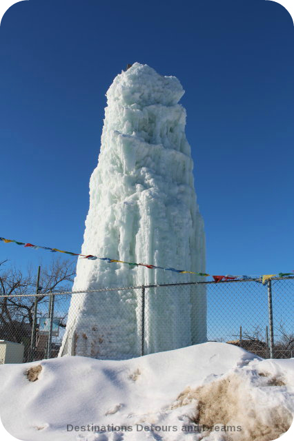 Unique Winnipeg Winter Activities - Ice climbing on a man-made ice tower
