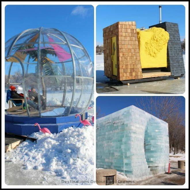 Unique Winnipeg Winter Fun Activities - Warming huts along the river skating trail