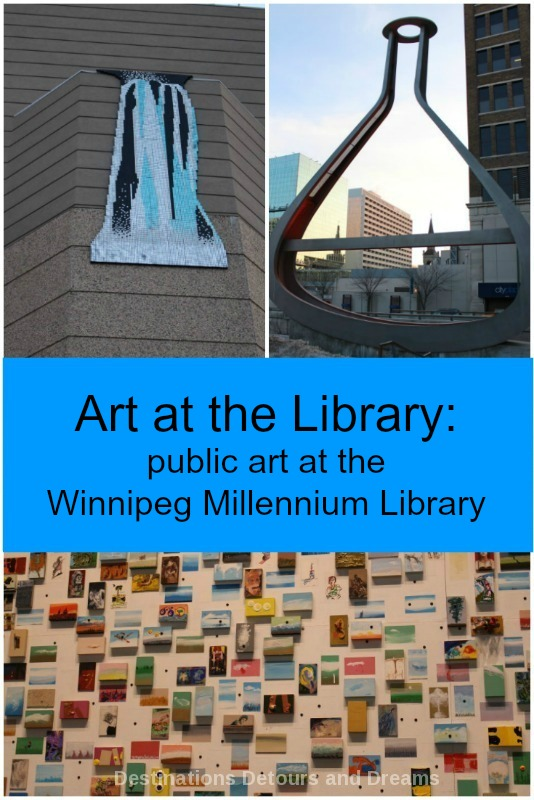 Art at the Library: public art at the Millennium Library in Winnipeg, Manitoba