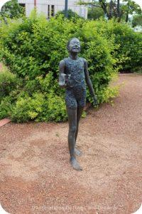 Garden of Sculptures in Saint Boniface: Curositês by Francis Montillaud