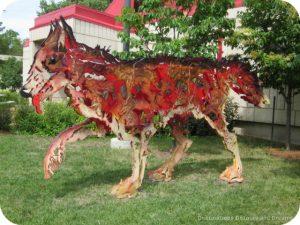 Garden of Sculptures in Saint Boniface: Entre Chien et Loup