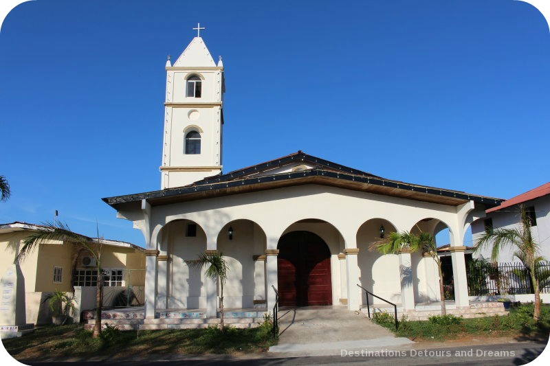 Spanish Colonial Architecture of the Azuero Peninsula: Church in Pedasi