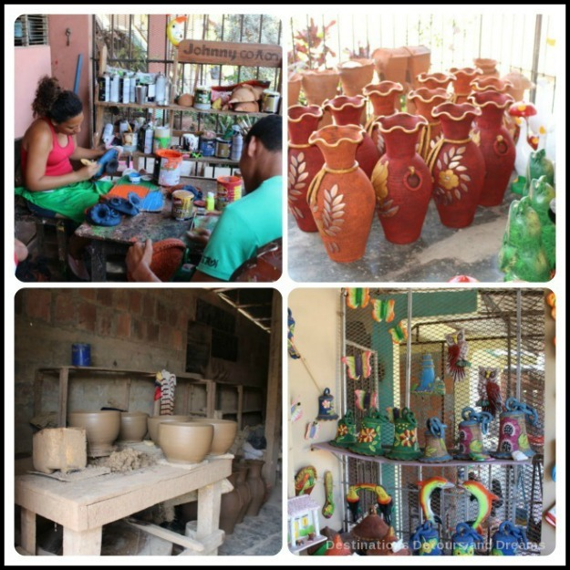 Spanish Colonial Architecture of the Azuero Peninsula: La Arena pottery