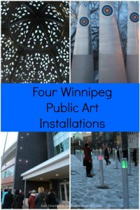 Four Public Art Installations in Winnipeg, Manitoba: Heaven Between, High Five, YOU YOU + YOU, and DIY Field