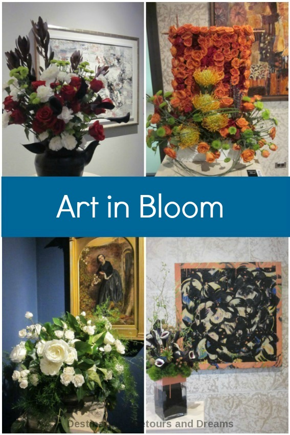 Art in Bloom exhibit at Winnipeg Art Gallery features floral designs inspired by works of art in its permanent collection